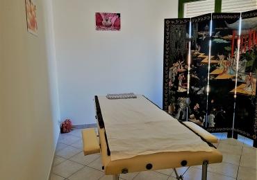 Massage relaxant aux huilles essentielles