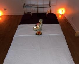 Massage doux relaxant et musculaire